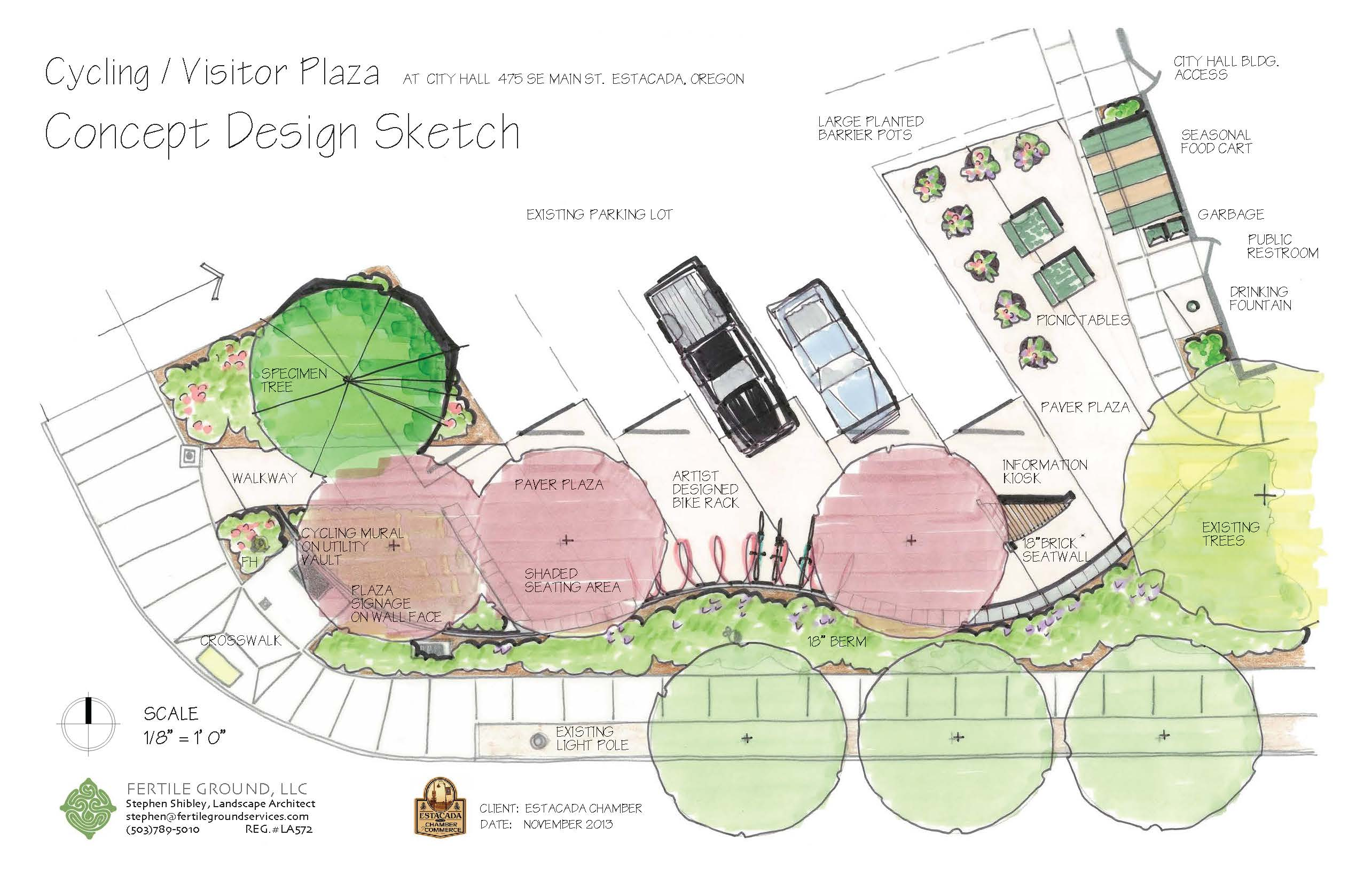 Cycling Plaza Design